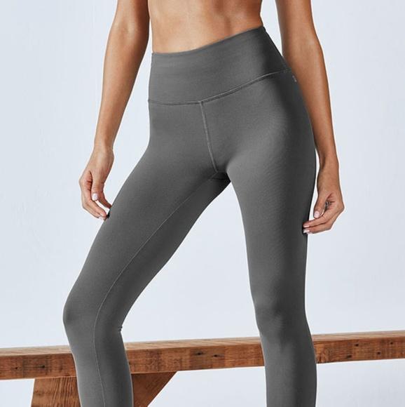158f73614c1ff1 Fabletics Pants | Nwt Lisette High Waisted Grey Leggings | Poshmark